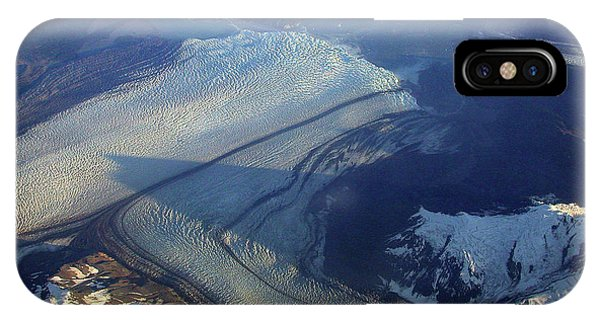 Glaciers Converge IPhone Case