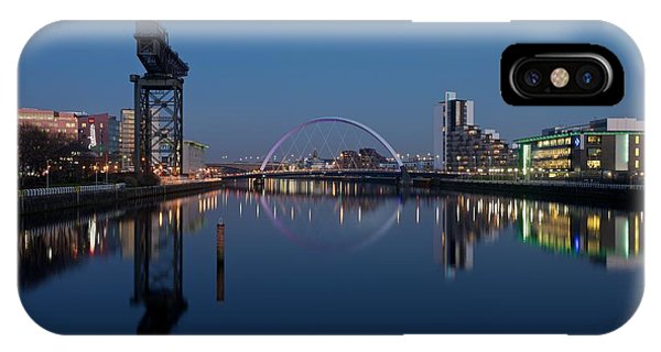Glasgow Relfected IPhone Case