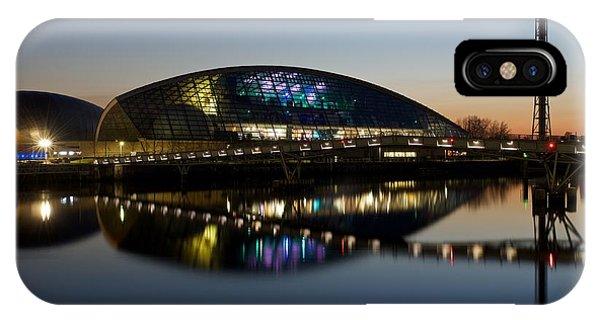Glasgow Science Center IPhone Case