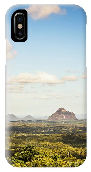 Qld iPhone Case - Glass House Minimalism by Jorgo Photography - Wall Art Gallery