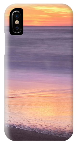 IPhone Case featuring the photograph Gleneden Beach Sunset by Whitney Goodey