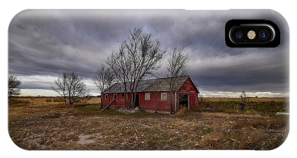 Gloomy iPhone Case - Gloomy Day In The Country by Christopher Thomas