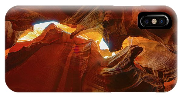 IPhone Case featuring the photograph Antelope Jagged Beauty by Mark Duehmig