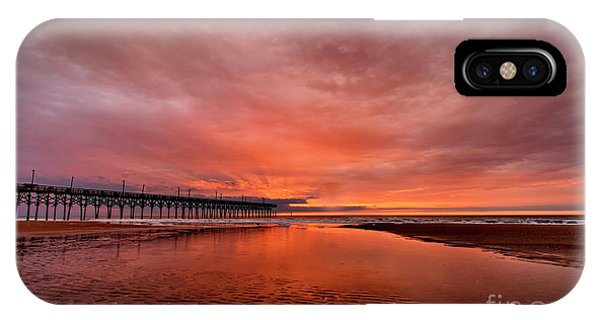 Glowing Sunrise IPhone Case