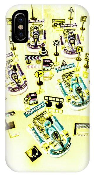 Cart iPhone Case - Go-kart Art by Jorgo Photography - Wall Art Gallery