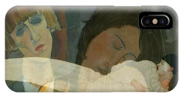 Sister iPhone Case - God Help The Mister Who Comes Between Me And My Sister by Paul Lovering