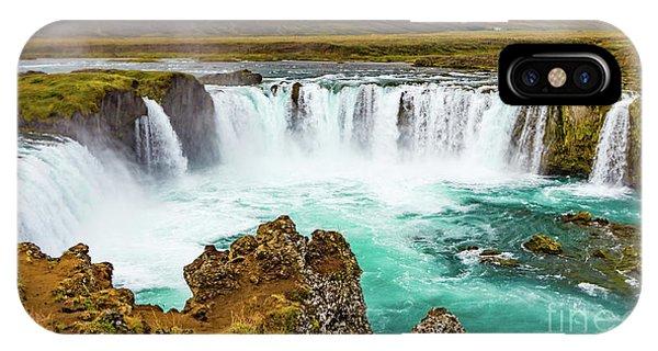 Godafoss Waterfall, Iceland IPhone Case