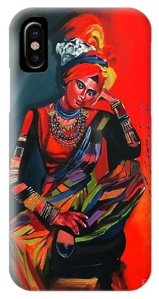 Goddess Of Colors IPhone Case