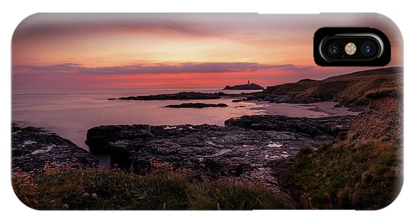 Godrevy Sunset - Cornwall IPhone Case