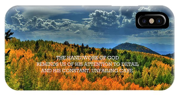 God's Handiwork IPhone Case
