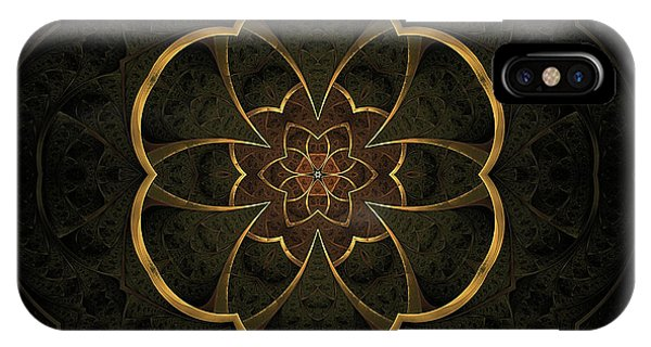 Fall Colors iPhone Case - Gold Inlay by John Edwards