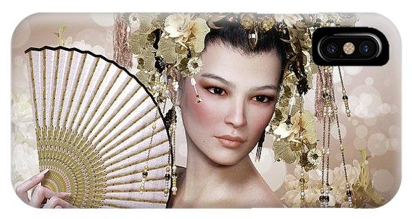 iPhone Case - Golden Bride by Shanina Conway