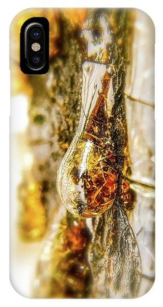 Golden Drop IPhone Case