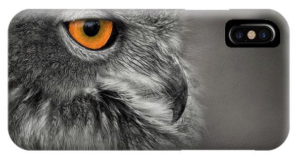 Golden Eye IPhone Case