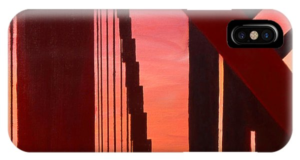 Golden Gate Art Deco Masterpiece IPhone Case