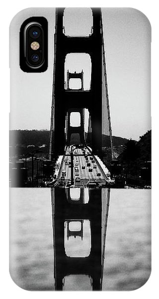 Golden Gate Reflection IPhone Case