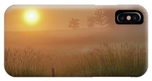 Golden Morning IPhone Case
