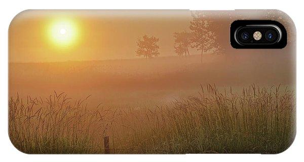 Golden Morning IPhone Case