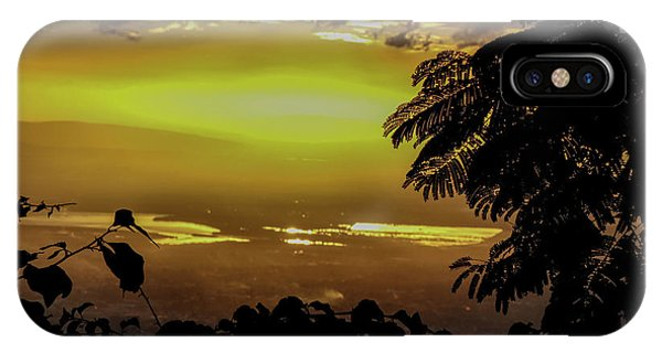 Golden Sunset On Strawberry Hill IPhone Case