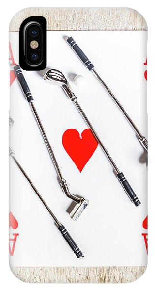 Golf Ball iPhone Case - Golf Club Love by Jorgo Photography - Wall Art Gallery