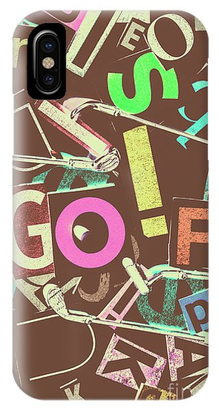 Cutting iPhone Case - Golfing Print Press by Jorgo Photography - Wall Art Gallery
