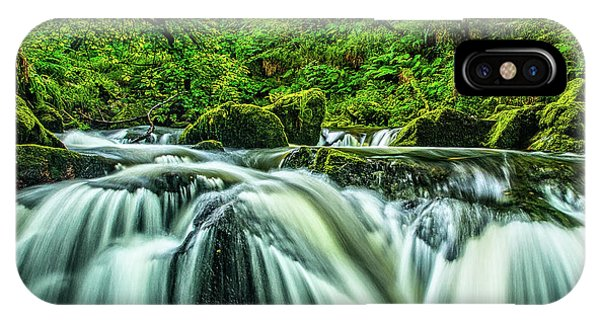 Golitha Falls, Cornwall Phone Case by David Ross