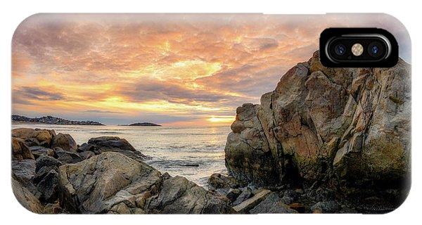 Good Harbor Rock View 1 IPhone Case