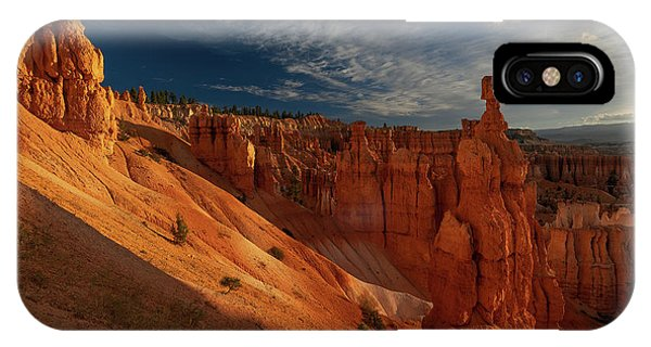 IPhone Case featuring the photograph Good Morning Bryce by Edgars Erglis
