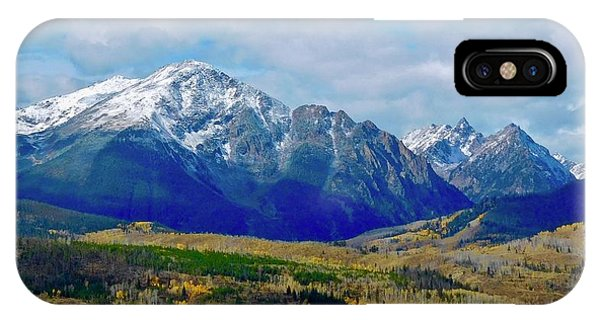 IPhone Case featuring the photograph Gore Mountain Range by Dan Miller