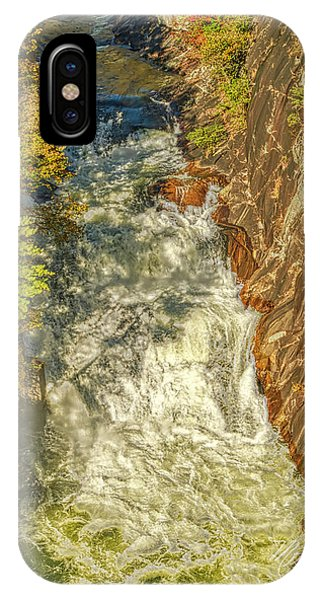 IPhone Case featuring the photograph Gorge Waterfall by Meta Gatschenberger