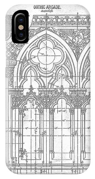 Gothic Arches IPhone Case