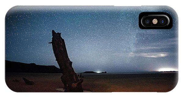 Gower Helvetia At Night  IPhone Case
