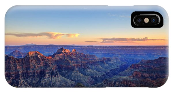 Layer iPhone Case - Grand Canyon National Park At Sunset by Jameschen