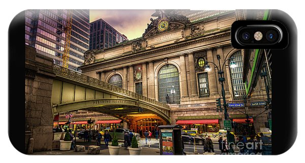 Railroad Station iPhone Case - Grand Central Terminal by Marvin Spates