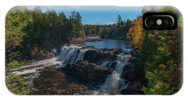 IPhone Case featuring the photograph Grand Falls by Rick Hartigan