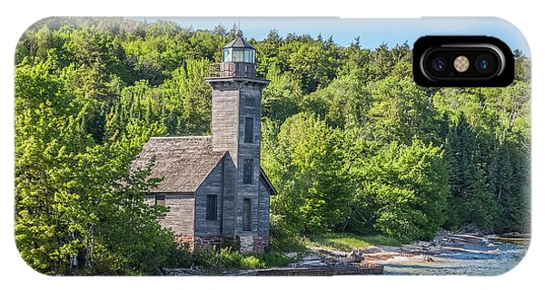Grand Island East Channel Lighthouse, No. 2 IPhone Case