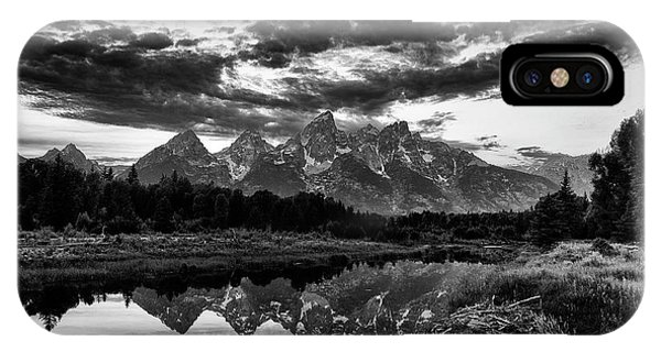 Grand Tetons, Wyoming IPhone Case