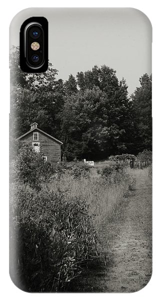 IPhone Case featuring the photograph Grandpa's Barn by Michelle Wermuth