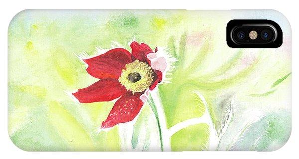 Granny Flower 3 IPhone Case
