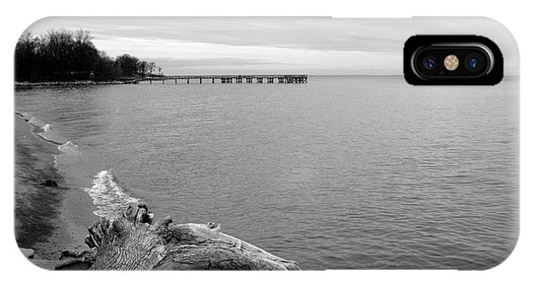 Gray Day On The Bay IPhone Case