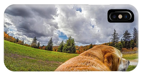 IPhone Case featuring the photograph Grayson Highlands Color By Jackson by Matthew Irvin