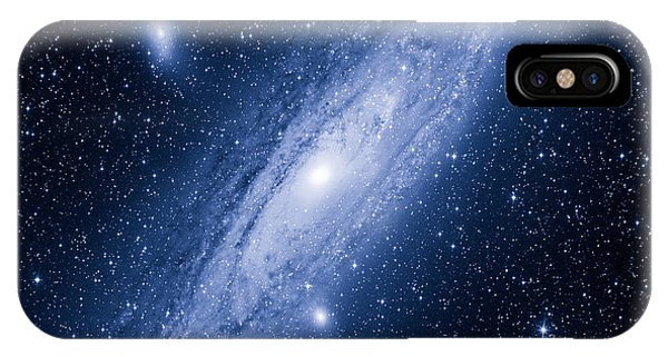 Earth Orbit iPhone Case - Great Andromeda Galaxy by Mironov