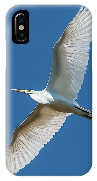 Great Egret Overhead IPhone Case