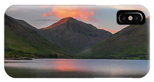 Great Lakes iPhone Case - Great Gable  by Mark Mc neill