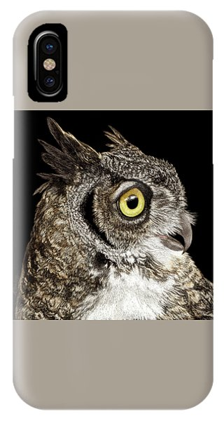 Great-horned Owl IPhone Case
