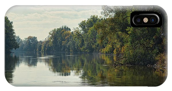 IPhone Case featuring the photograph Great Morava River by Milan Ljubisavljevic