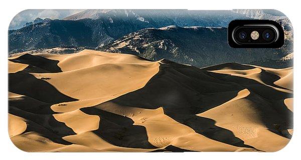 Rocky Mountain Landscape iPhone Case - Great Sand Dunes National Park Colorado by Kris Wiktor