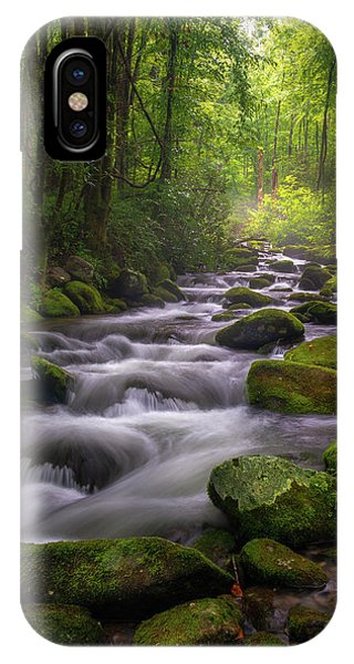 Great Smoky Mountains Gatlinburg Tennessee IPhone Case