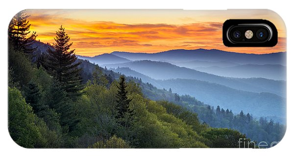 Layer iPhone Case - Great Smoky Mountains National Park by Dave Allen Photography