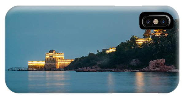 Great Wall At Night IPhone Case